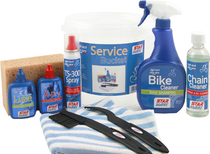 Lubricate the bicycle with the best products